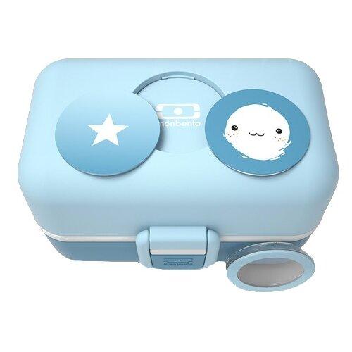 Monbento Ланч-бокс Tresor голубой ланч бокс robot голубой