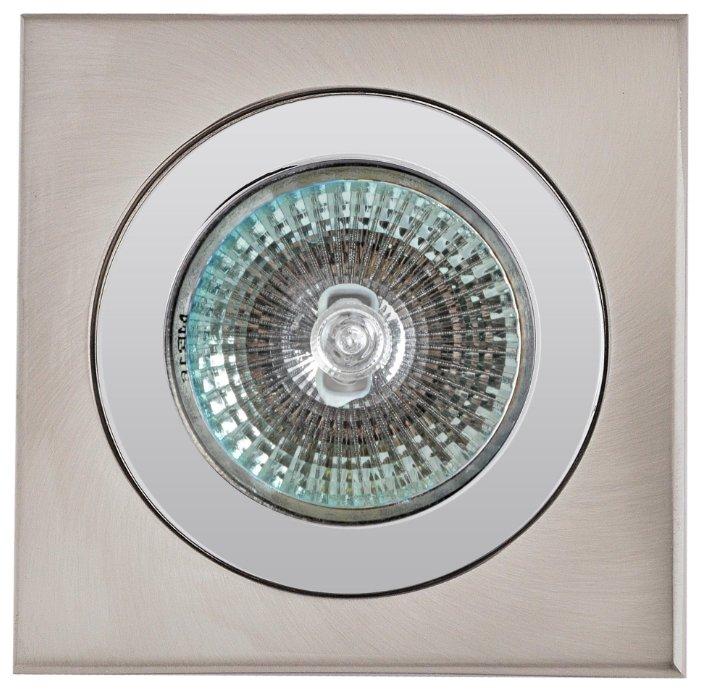Встраиваемый светильник De Fran FT 136 GT SD136, сатин-никель / хром