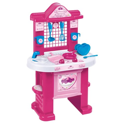 Купить Кухня Faro My Princess Sara 1552 розовый/белый/голубой, Детские кухни и бытовая техника