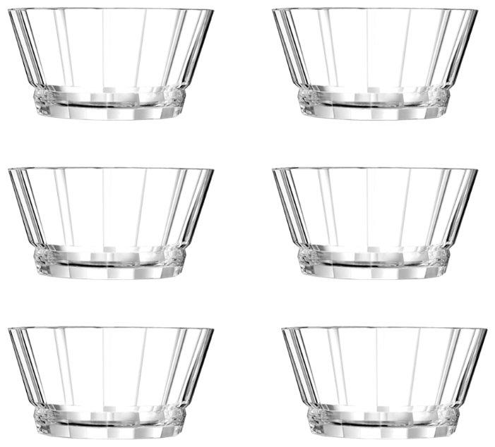 Cristal d'Arques набор салатников Macassar, 6 шт.