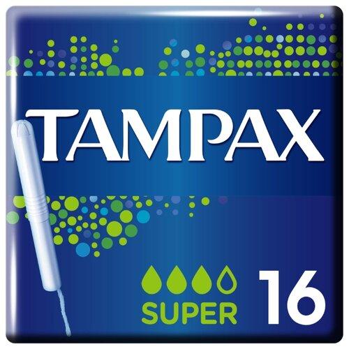 TAMPAX тампоны Super 16 шт.Прокладки и тампоны<br>