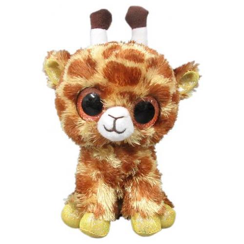 Мягкая игрушка Yangzhou Kingstone Toys Жираф коричневый 15 см