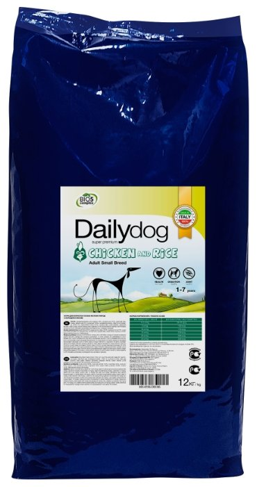 Корм для собак Dailydog Adult Small Breed Chicken and Rice