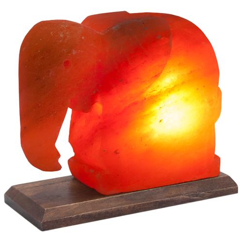 Солевая лампа Stay Gold Слон (с диммером) фото