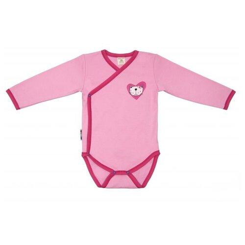 Купить Боди lucky child размер 24, розовый
