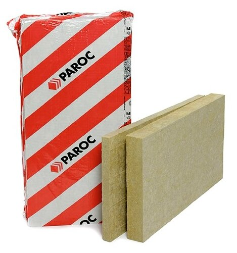 Каменная вата Paroc GRS 20 1200x600х100мм 3 шт