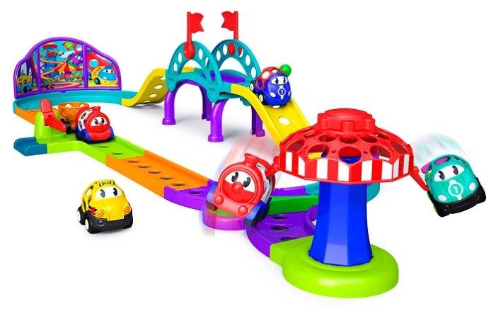 Трек Oball Go Grippers Adventure Park Train Playset
