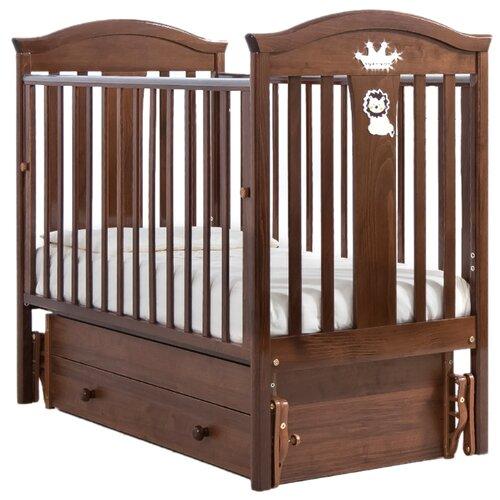 Купить Кроватка Гандылян Даниэль (классическая), универсальный маятник орех, Кроватки