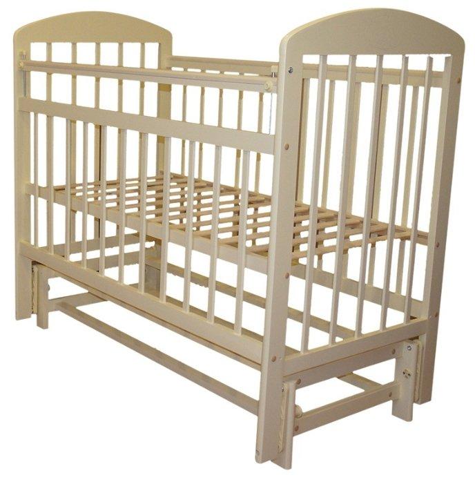 Кроватка Мой малыш 9 (маятник продольный)