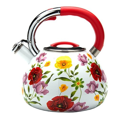 MAYER & BOCH Чайник 23853 3,5 л белый/красный/желтыйЧайники<br>