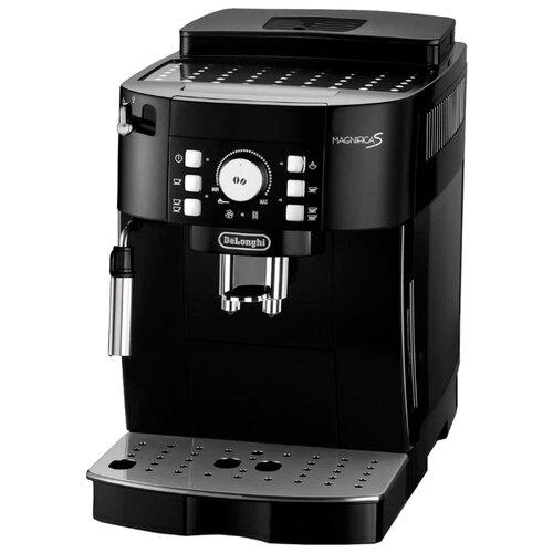 Кофемашина De'Longhi Magnifica S ECAM 21.117 черный кофемашина de longhi magnifica s ecam 21 117 серебристый черный