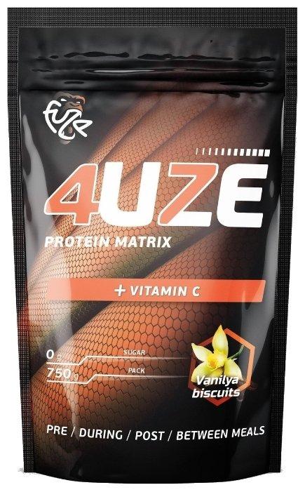 Протеин Fuze Protein Matrix + Vitamin C (750 г) — купить по выгодной цене на Яндекс.Маркете