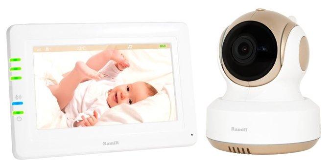 Видеоняня Ramili Baby RV1000 (двухрежимная DSSS и Wi-Fi, интернет доступ)