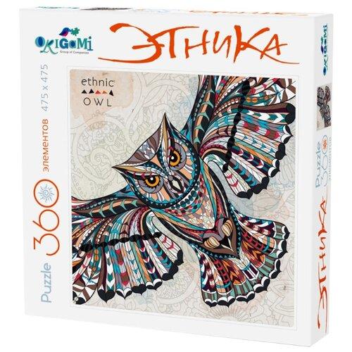 Купить Пазл Origami Этника Сова (02897), элементов: 360 шт., Пазлы