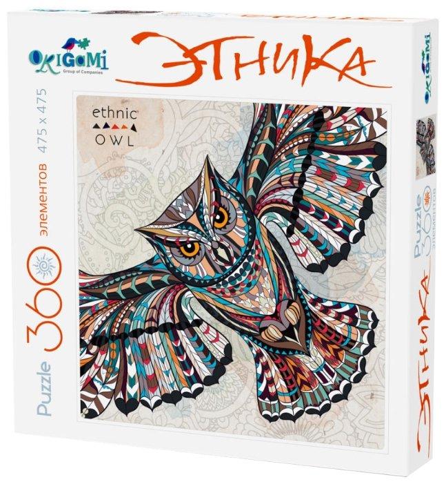 Пазл Origami Этника Сова (02897), 360 дет.