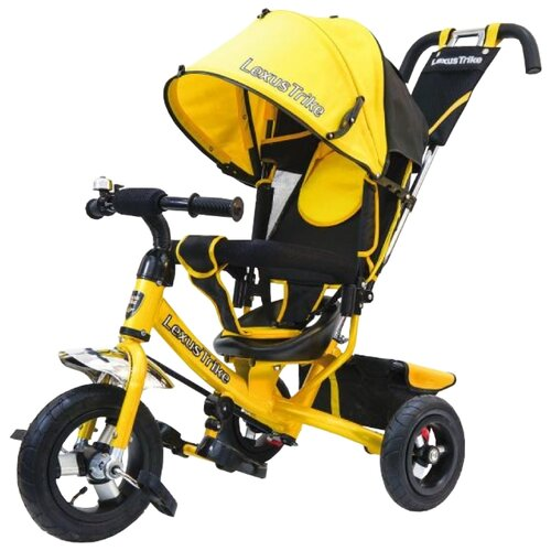 Трехколесный велосипед Lexustrike 950 108 (2018) желтыйТрехколесные велосипеды<br>