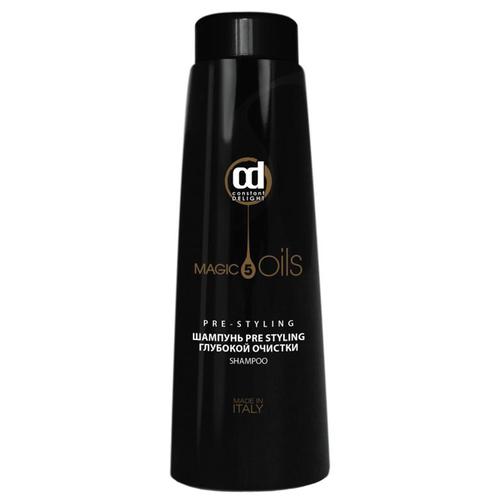 Constant Delight шампунь 5 Magic Oils Pre Styling глубокой очистки волос 1000 мл constant delight спрей 5 magic oils pre styling термозащитный 5 масел 200 мл