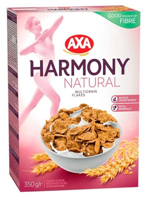 Хлопья Axa Гармония мультизерновые 500 г