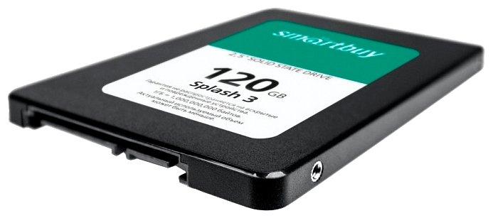 Твердотельный накопитель SmartBuy Splash 3 120 GB (SB120GB-SPLH3-25SAT3)