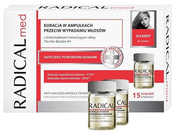 Farmona Radical Med Комплекс против выпадения волос для женщин в ампулах