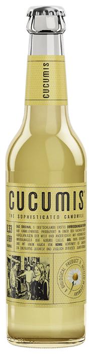 Лимонад Cucumis The Sophisticated Camomile (Ромашка и мед), 0.33 л