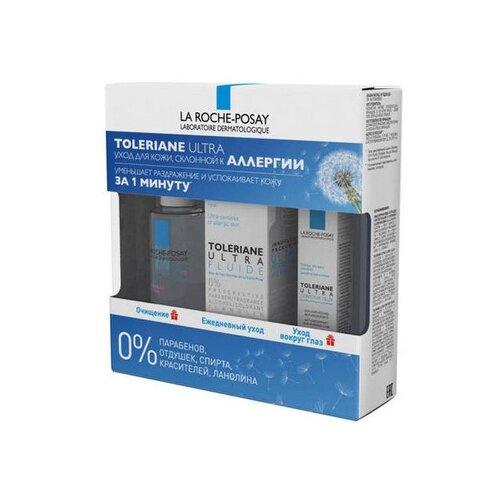 Набор La Roche-Posay Toleriane ultra fluide гель для ухода за кожей la roche posay toleriane caring wash
