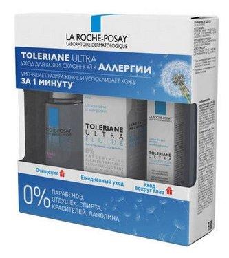 Набор для лица La Roche-Posay Toleriane Толеран (флюид 40 мл, миц.вода 50 мл, уход для глаз 2 мл)
