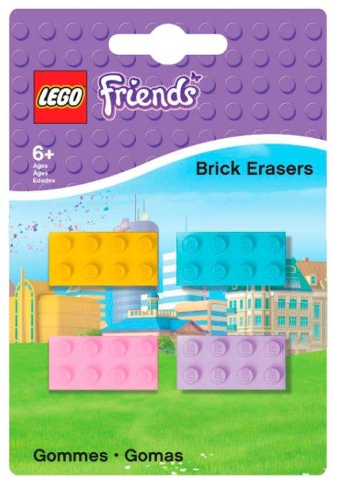 LEGO Набор ластиков Friends 4 шт.