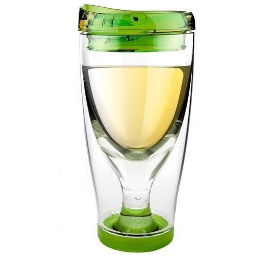цена на Asobu Бокал для вина Ice Vino 2go 0.48 л зеленый