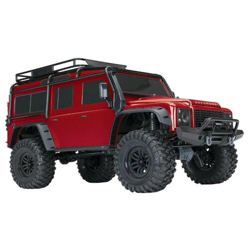 Купить Внедорожник Traxxas TRX-4 Land Rover Defender 1/10 (82056-4) 1:10 58.61 см красный, Радиоуправляемые игрушки
