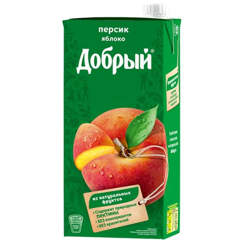 цена на Нектар Добрый Персик-Яблоко, с крышкой, 2 л