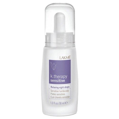 Lakme K-Therapy Sensitive Ночное успокаивающее средство для чувствительной кожи головы и волос, 30 мл косметика lakme купить