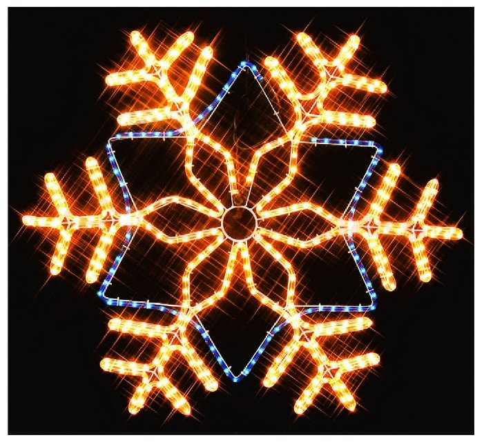Фигура Sh Lights Снежинка I-R-LDP12SF-C-YB