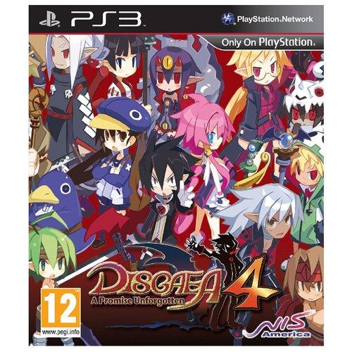 Игра для PlayStation 3 Disgaea 4: A Promise Unforgotten