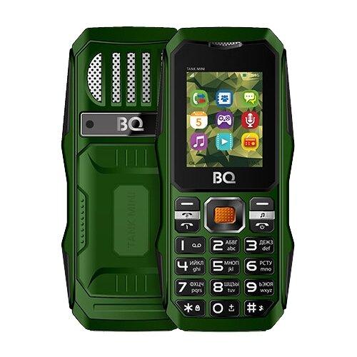 цена на Телефон BQ 1842 Tank mini зеленый