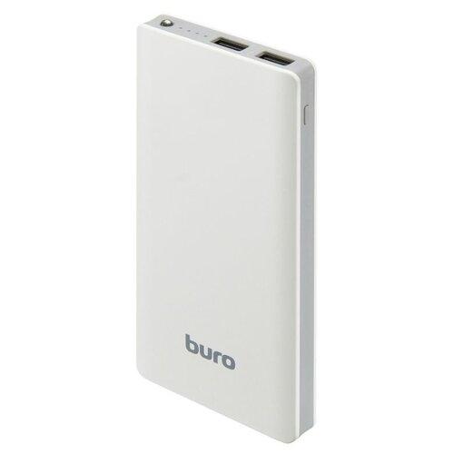 Аккумулятор Buro RCL-10000 белый мобильный аккумулятор buro rcl 10000 bk li pol цвет черный