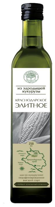 Натуральные продукты Масло из зародышей кукурузы Краснодарское элитное
