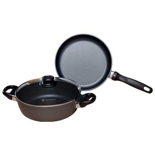 Набор посуды Swiss Diamond XD SET6008 Classic 3 пр. черный набор посуды swiss diamond premium steel sd ps set l3