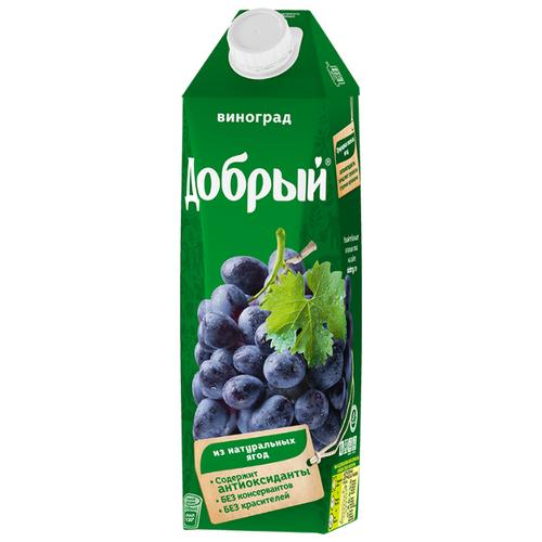 Нектар Добрый Виноград, 1 лСоки, нектары, морсы<br>