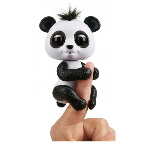 Купить Интерактивная игрушка робот WowWee Fingerlings Панда в блестках дрю, Роботы и трансформеры