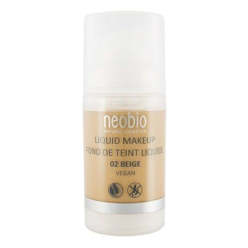 Neobio Тональный крем Liquid Makeup, 30 мл, оттенок: 02 beigeТональные средства<br>