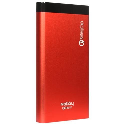 Аккумулятор Nobby Expert NBE-PB-10-04 / 05 / 06, красный аккумулятор nobby expert nbe pb 10 10 черный