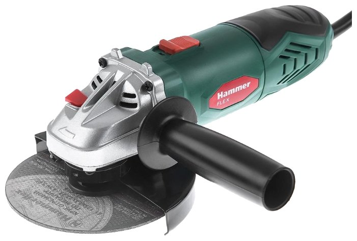 УШМ Hammer USM650LE, 650 Вт, 125 мм