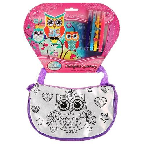 Купить MultiArt Набор для росписи сумки Совушки (ST-027-OWL), Роспись предметов