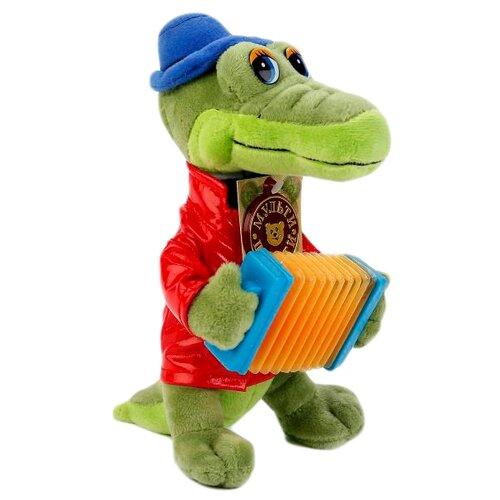 Купить Мягкая игрушка Мульти-Пульти Крокодил Гена с аккордеоном 24 см, Мягкие игрушки