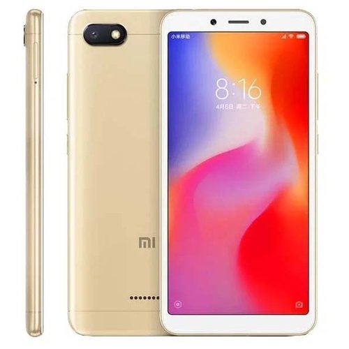 фото Смартфон Xiaomi Redmi 6A 2/32GB золотой
