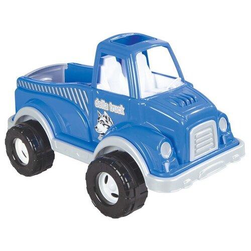 Купить Грузовик pilsan Delta (06-506) 60 см синий, Машинки и техника