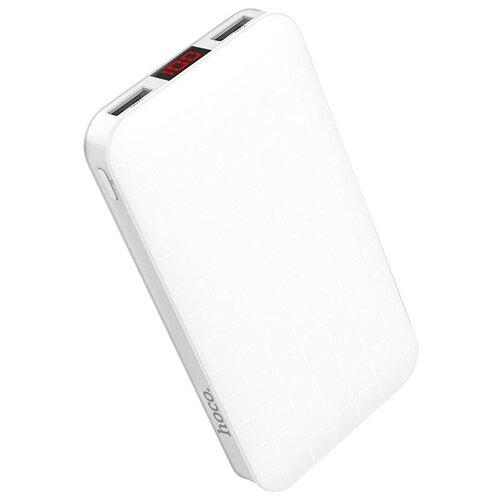 Аккумулятор Hoco J29A Cool square 10000 mAh, белый, коробка недорого
