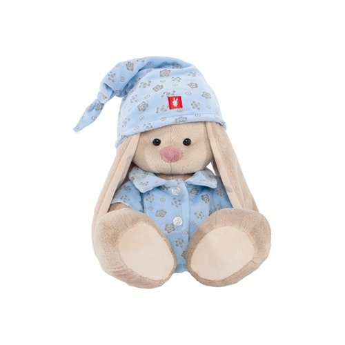 Купить Мягкая игрушка Зайка Ми в голубой пижаме 18 см, Мягкие игрушки