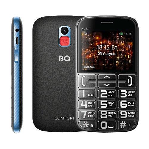 Купить Телефон BQ 2441 Comfort черный / синий